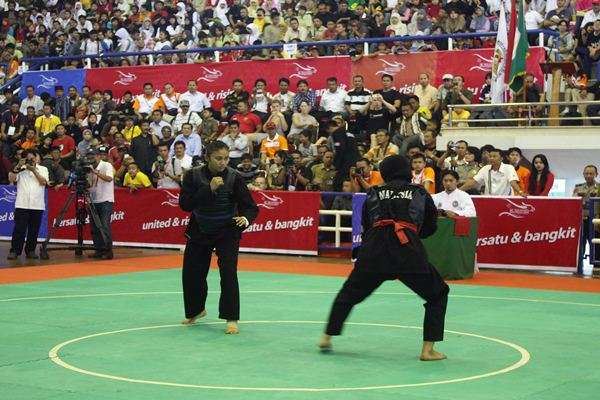 Highlights - Indonesia VS Vietnam, 2016 Pencak Silat World Championships